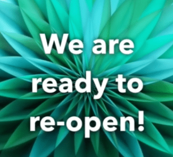 WE ARE READY TO RE-OPEN!