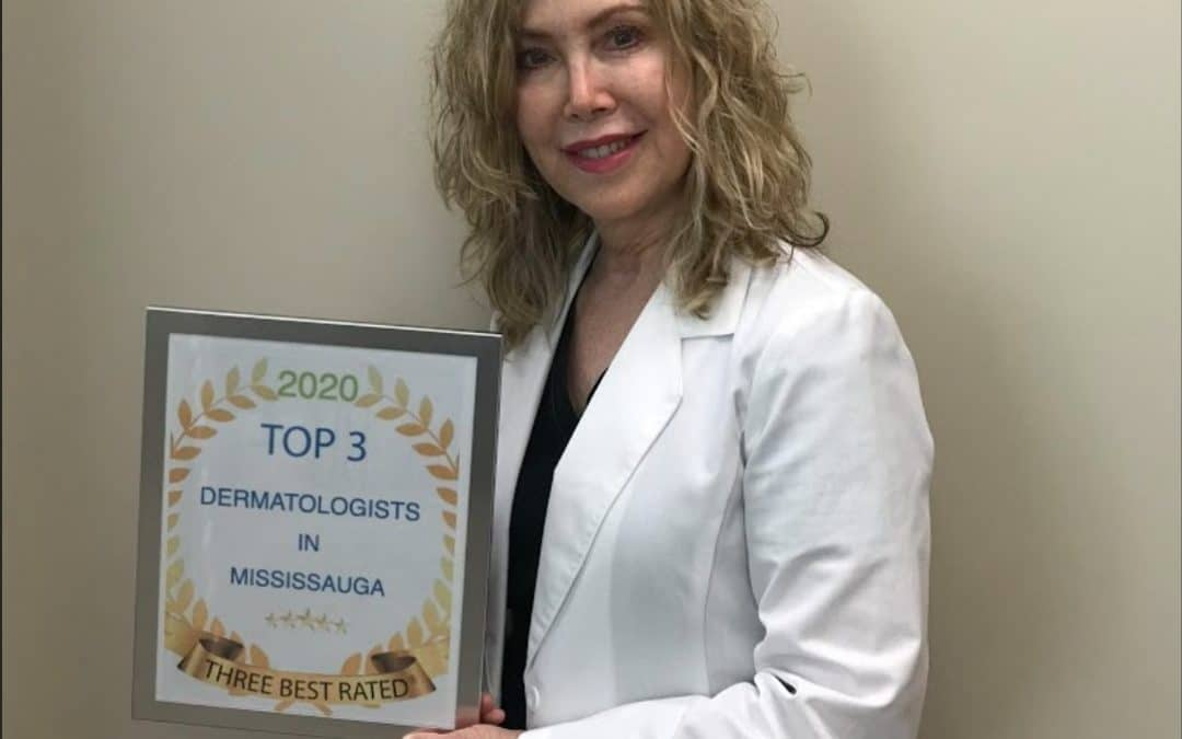 Dr. Karen selected as 2020 TOP 3 Dermatologist in Mississauga