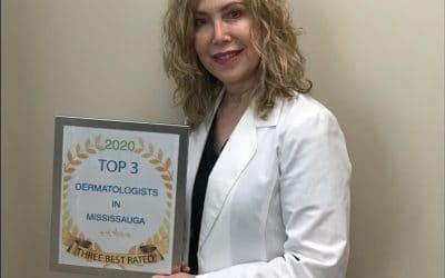 Dr. Karen selected as 2020 TOP 3 Dermatologist in Mississauga