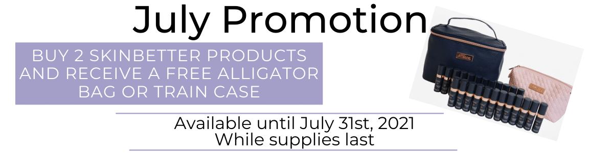 July Promo Banner
